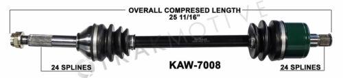 Kawaski Teryx 4X4 Right Rear CV Axle Shaft 08 09 10 11 12 13 KRF750 KRT750