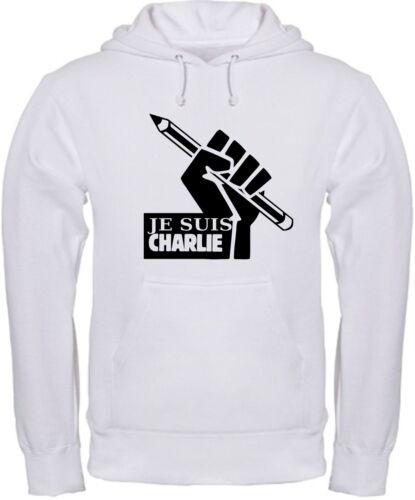 FELPA JE SUIS CHARLIE hoodie sweatshirt Sweat-shirt maglietta polo shirt maglia