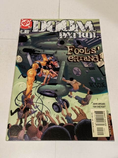 Doom Patrol #2 January 2002 DC Comics John Acudi Huat