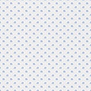 rasch tapete petite fleur iii 285191 blumen bl mchen wei blau landhausstil ebay. Black Bedroom Furniture Sets. Home Design Ideas