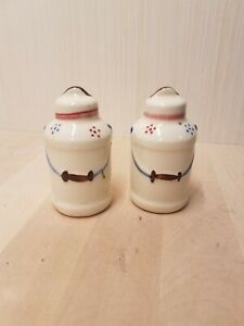 Shawnee Milk Can Salt and Pepper Shakers