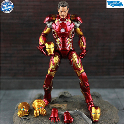 Marvel Avengers Infinity War Iron Man MK 43 Tony Stark Figure Action Toy Hot US