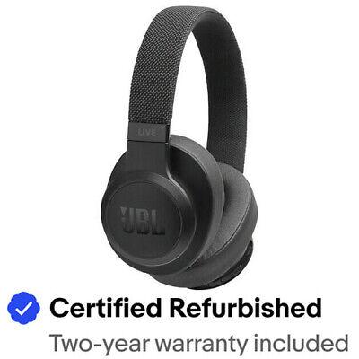 JBL JBLLIVE500BTBKAM-Z LIVE 500BT Wireless OverEar Headphones - Refurbished