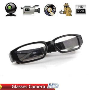 e649face3ef Mini Glasses HD 720P Spy Camera Hidden Covert Eyewear Cam Video ...