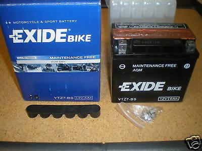 EXIDE YTZ7-BS Batteria