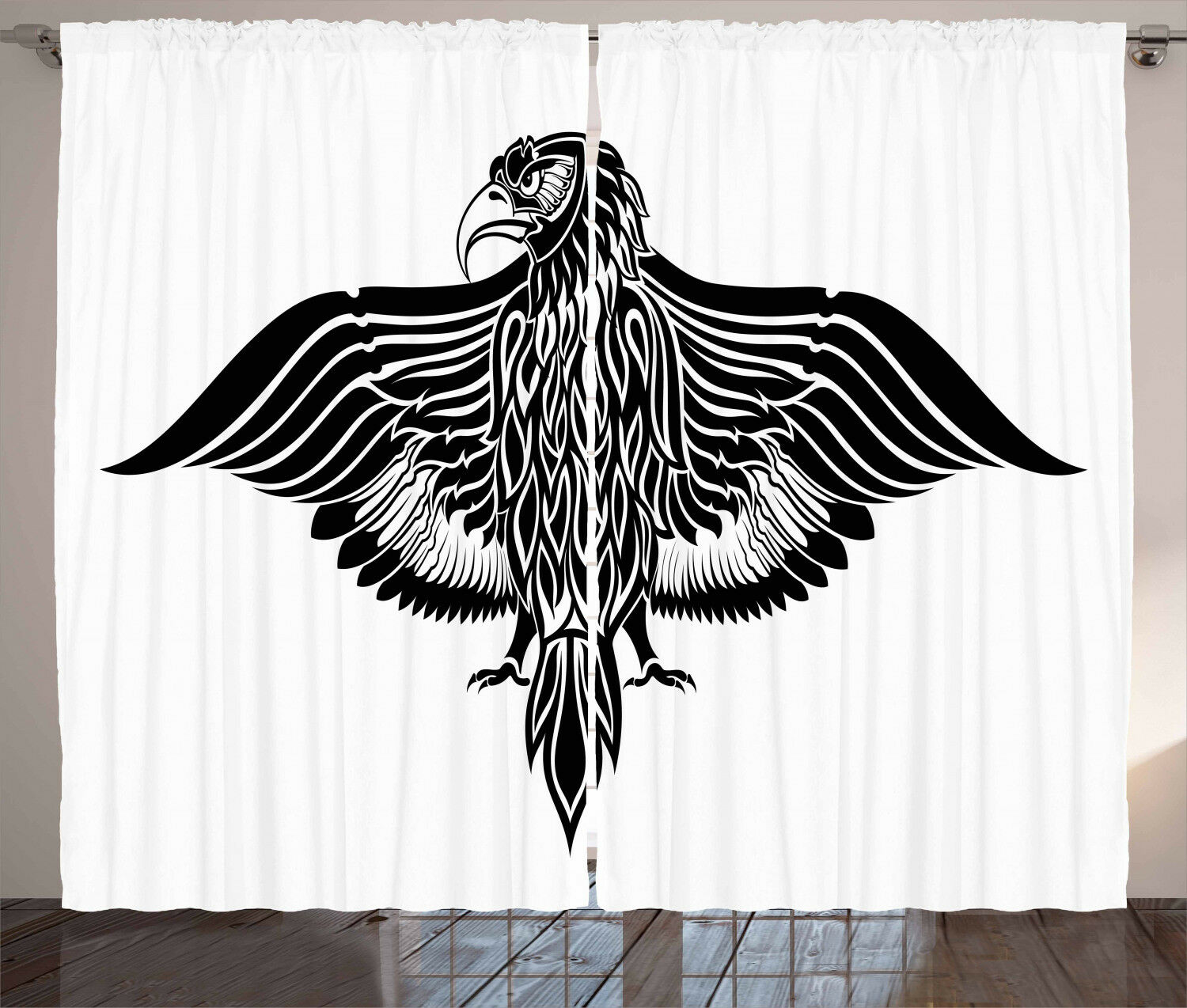 Eagle Curtains 2 Panel Set for Decor 5 Größes Größes Größes Available Window Drapes 2f0b51