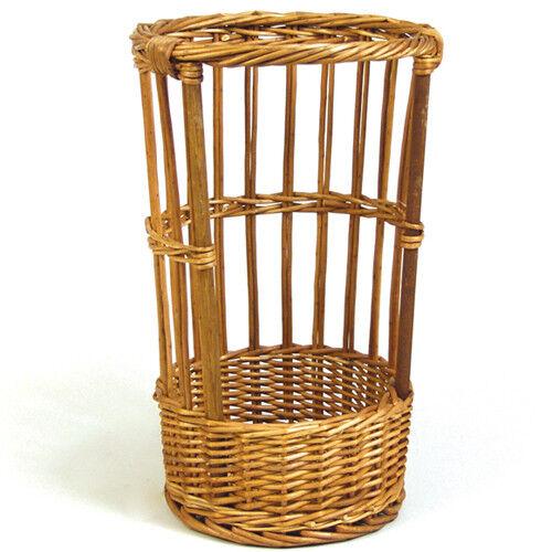 "10-1//2/"" Diameter 20/"" High Baguette Basket w//Open Front"