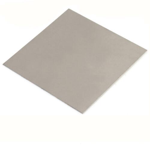 US Stock 2mm x 200mm x 200mm Titanium plate Ti Titan TC4 Gr5 Plate Sheet Foil