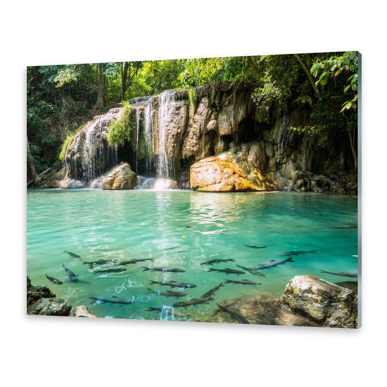 Cristal acrílico imágenes muro imagen imagen muro desde plexiglas ® imagen Erawan cascada 4e04d4