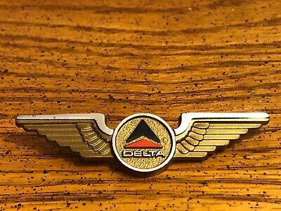 Made in the USA by Stoffel, AIRLINES Junior Pilot Wings Stewardess DELTA