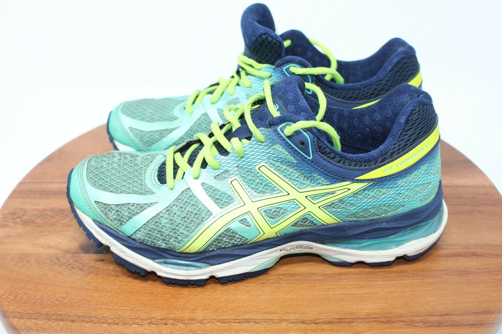 Asics Gel-Cumulus 17 Women's Running Shoes T5D8N Green Yellow Comfortable Seasonal clearance sale