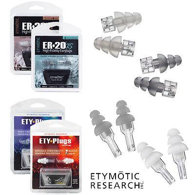 1 Pair Standard Passform Gehörschutz Musiker Ohrstöpsel Etymotic ER20 Etyplugs