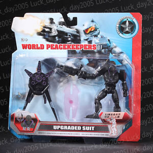 World-Peacekeepers-Black-Armor-with-Upgraded-Suit-Nick-1-18-Action-Figure