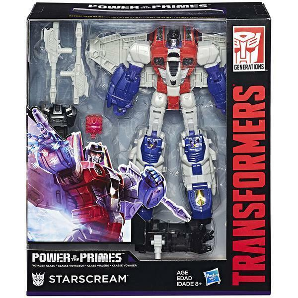 Transformers Generations Power of the Primes Voyager W1 Starscream NEW