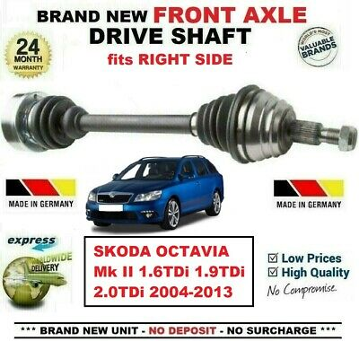 DRIVESHAFT FOR A SKODA OCTAVIA 1.8T RS RIGHT//OFF-SIDE 2001/>04 *NEW*