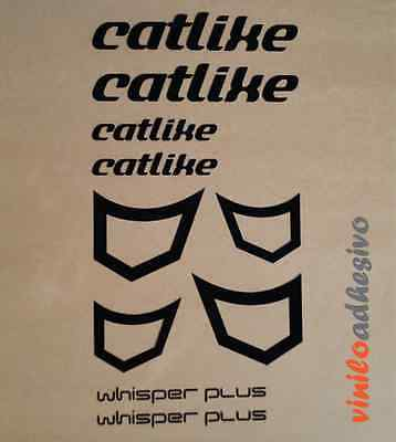 Fiducioso Pegatina Sticker Vinilo Bicicleta Catlike Kit Whisper Plus Autocollant Aufkleber Lustro