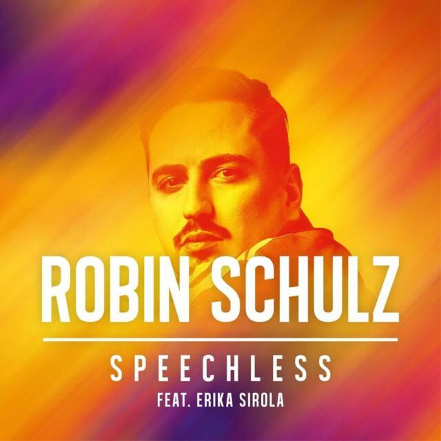Robin Schulz feat. Erika Sirola-Speechless CD SINGLE NUOVO