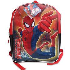 "Marvel Spider-Man Kids School 15"" Large Backpack Book Bag Mochila Maleta Escuela"