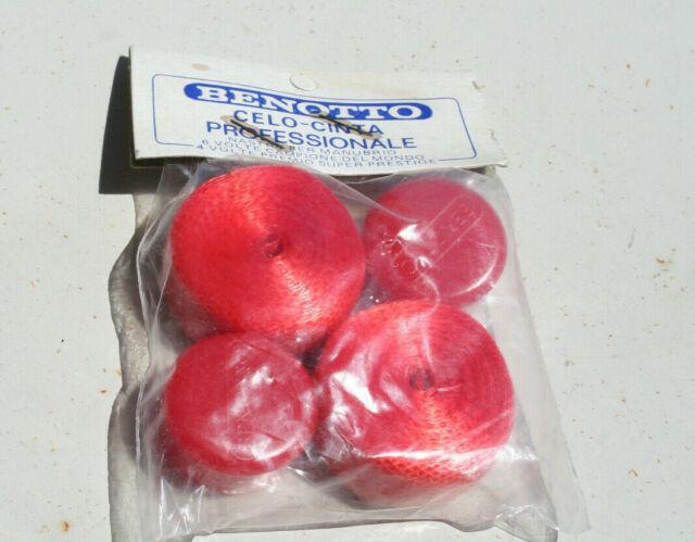 NOS Prodotti Vintage Handlebar Tape Benotto Celo Nastro Italy Campi 1970s red