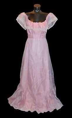 1980s Pink Dress