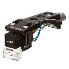 Shure/Technics-Shure m44-7 sistema con original Technics mk2 headshe... Black