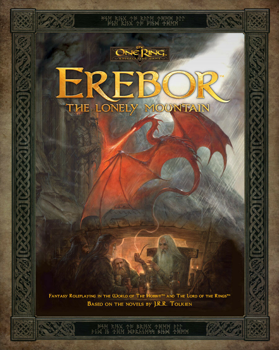 Erebor - The The The Lonely Mountain - Quello Anello Roleplaying Gioco - Cubicle Seven 37692f