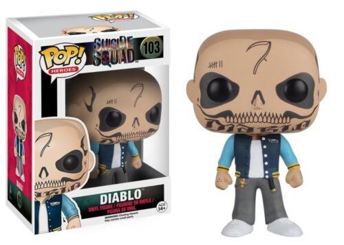 El Diablo DC Comics vinyl figure 103 vaulted FUNKO POP Suicide Squad