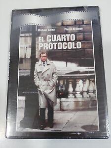EL-CUARTO-PROTOCOLO-DVD-SLIM-MICHAEL-CAINE-ESPANOL-ENGLISH-NEW-SEALED-NUEVA