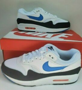 nuevo Details about Nike Air Max 1 White Photo Blue Black