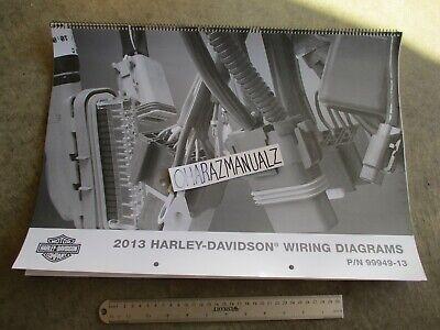 2013 Harley Davidson Wiring Diagrams Manual | eBay