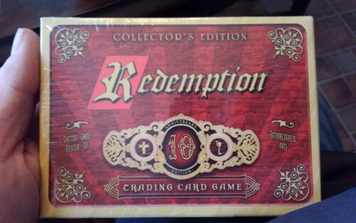 Redemption Card Game Collector/'s Edition Cactus Games 10th Anniversary Bible New