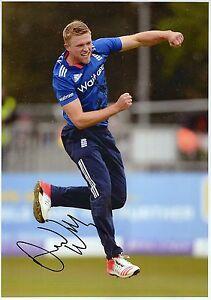 ENGLAND CRICKET DAVID LLOYD SPORT Signed 12x8 Photograph