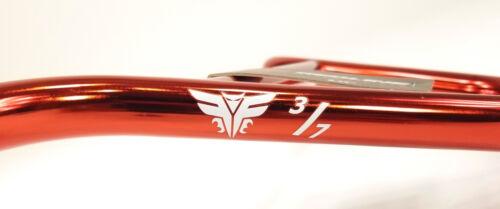 "REDLINE Flight 3//7 Bar CrMo BMX Bike Handlebar RED 28/""//8.25/"""