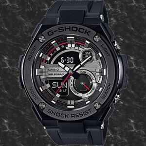 Casio GST-210B-1A G-Shock 200M WR World Time Black Men's Watch Analog Digital