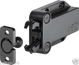 Atv,rv,boat & Other Vehicle Automobiles & Motorcycles Loft Catch Hatch Push Attic Cupboard Latch Press Lock Cabinet Panel Black