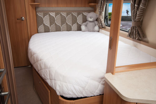 Elddis Crusader Aurora Caravan Mattress Protector For Fixed Bed