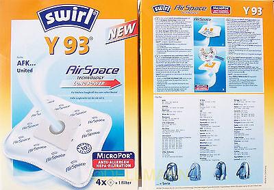 4 Swirl Y93 Y 95 Y95 AirSpace Staubbeutel Y 93 Micropor