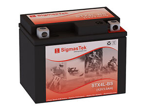 Extreme Battery XTAX4L-BS Replacement by SigmasTek Brand