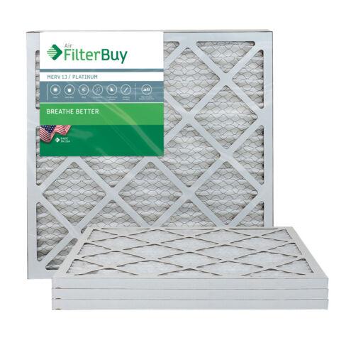 MERV 13 AFB Platinum FilterBuy 18x20x1 Pleated HVAC AC Furnace Air Filter