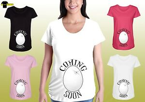 1e953e6562c7c Image is loading Funny-Maternity-Graphic-Shirts-Pregnancy-Tee-Cute-Maternity -