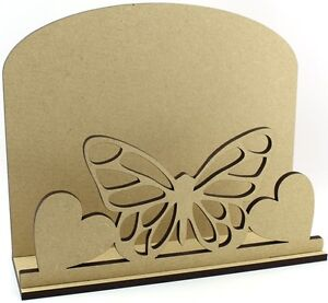Butterfly Letter Mail Post Rack 6mm MDF Mother's Day Birthday Gift Idea
