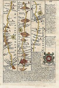 Antique-map-Road-from-London-to-Darby-commencing-at-Stony-Stratford