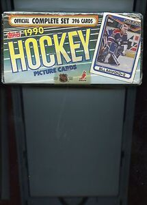1990-TOPPS-HOCKEY-COMPLETE-SET-396-CARDS-FACTORY-SEALED-BOX