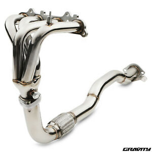 STAINLESS RACE EXHAUST MANIFOLD & DOWNPIPE FOR TOYOTA CELICA 2.0 ST202 93-99