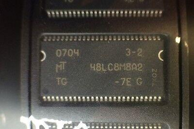 MT46V64M8TG-6T:F MICRON SDRAM 512Mbit 64Mx8 DDR 66-Pin TSOP 2 PIECES