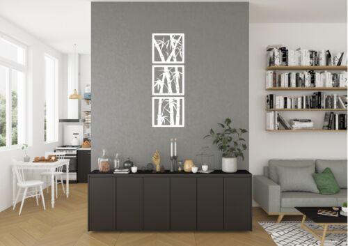 Bamboo In Frames Inspired Design Home Wall Art Vinyl Decal Sticker