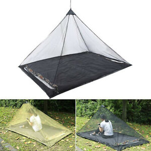 cheap for discount 5ed07 25a01 Details about Outdoor Mosquito Net Tent Pyramid Shape Camping Screen Shield  Shelter LC