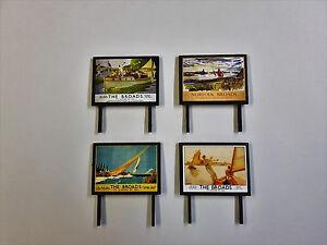 4-Model-Railway-Billboards-Posters-Trackside-Signs-OO-Gauge-Pack-32