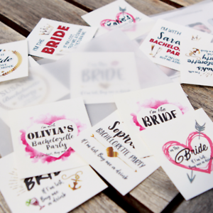 Custom-Bachelorette-Party-Tattoos-Hen-039-s-Night-Temporary-Tattoos-Team-Bride