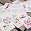 Custom-Bachelorette-Party-Tattoos-Hen-039-s-Night-Temporary-Tattoos-Team-Bride thumbnail 1